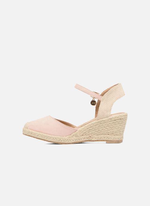 Sandales et nu-pieds Xti Sugar 45059 Beige vue face