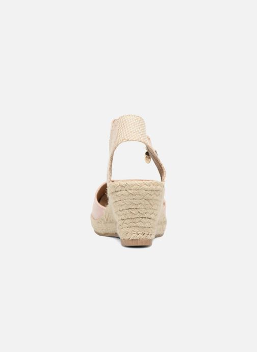 Sandales et nu-pieds Xti Sugar 45059 Beige vue droite