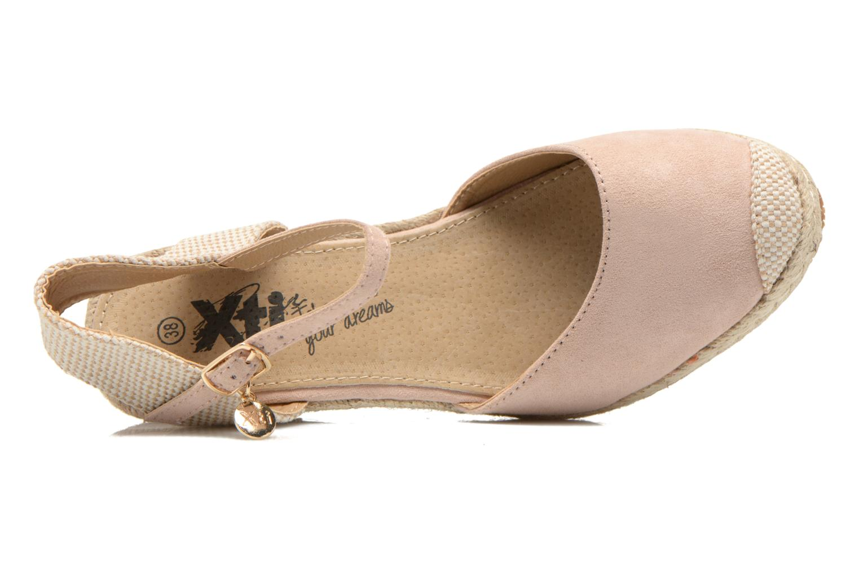 Sandales et nu-pieds Xti Sugar 45059 Beige vue gauche