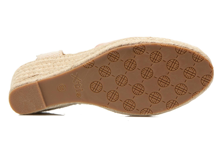 Sandales et nu-pieds Xti Sugar 45059 Beige vue haut