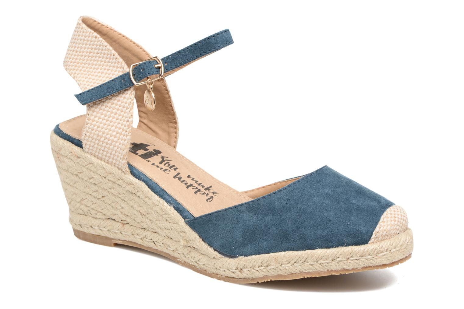Sandals Xti Sugar 45059 Blue detailed view/ Pair view