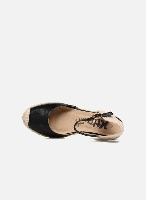 Sandales et nu-pieds Xti Brownie 45061 Noir vue gauche