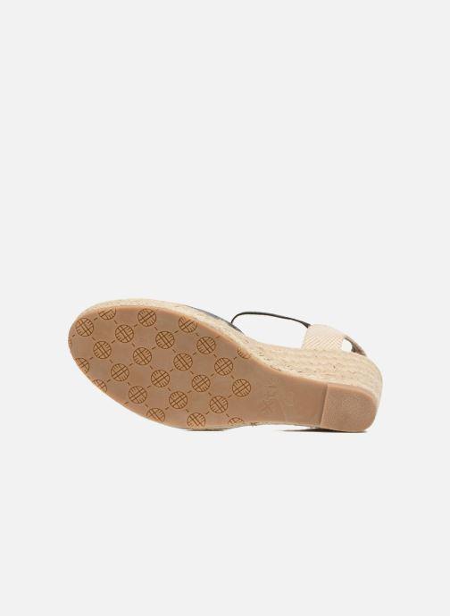 Sandales et nu-pieds Xti Brownie 45061 Noir vue haut