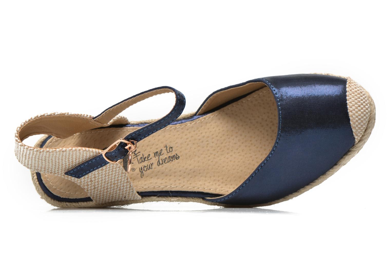 Sandalen Xti Brownie 45061 blau ansicht von links