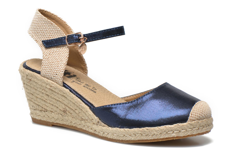 Sandals Xti Brownie 45061 Blue detailed view/ Pair view