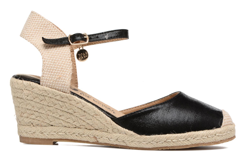 Sandalen Xti Brownie 45061 schwarz ansicht von hinten