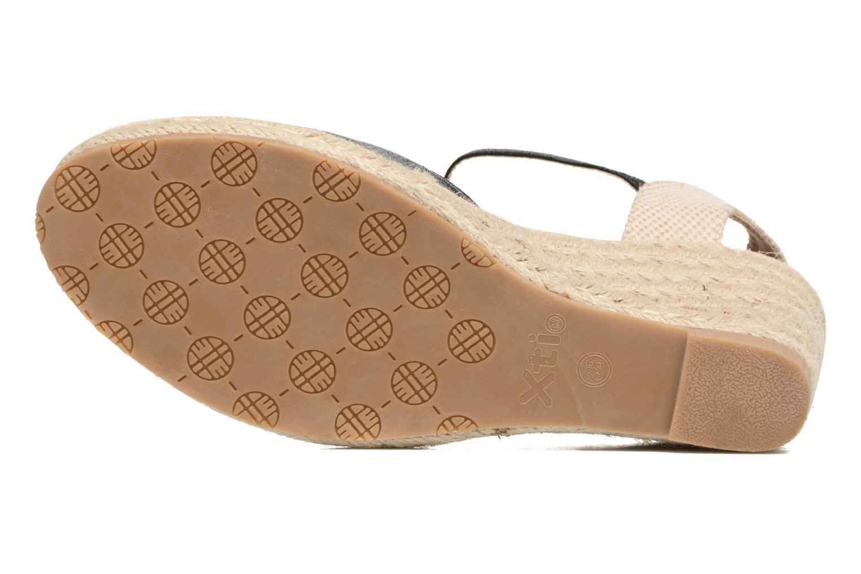 Sandalen Xti Brownie 45061 schwarz ansicht von oben