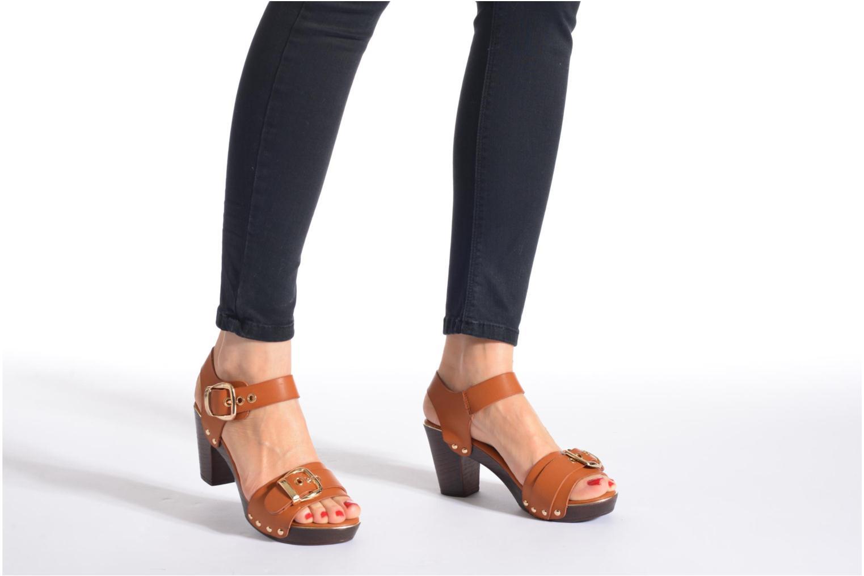 Sandales et nu-pieds Xti Bahia 45900 Marron vue bas / vue portée sac
