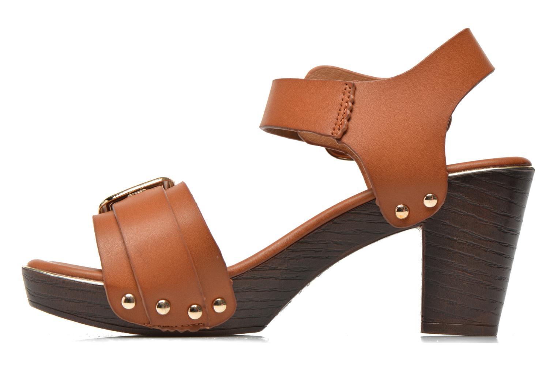 Sandales et nu-pieds Xti Bahia 45900 Marron vue face