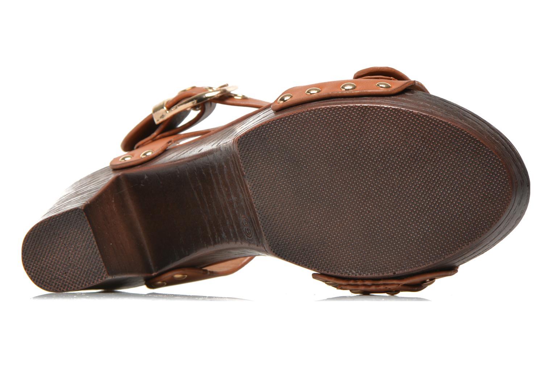 Sandales et nu-pieds Xti Bahia 45900 Marron vue haut