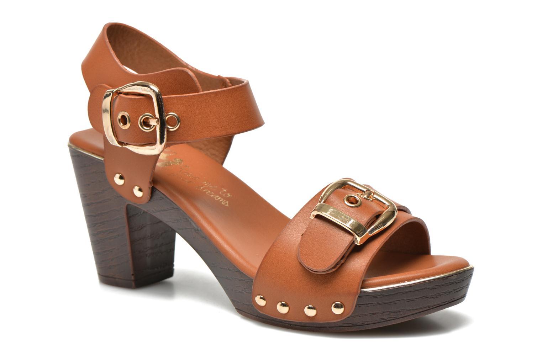 Sandales et nu-pieds Xti Bahia 45900 Marron vue détail/paire