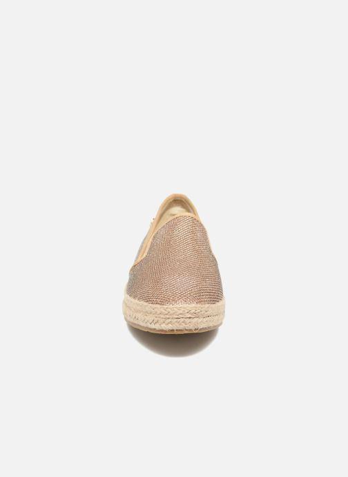 Espadrilles Xti Arianne 45215 Or et bronze vue portées chaussures