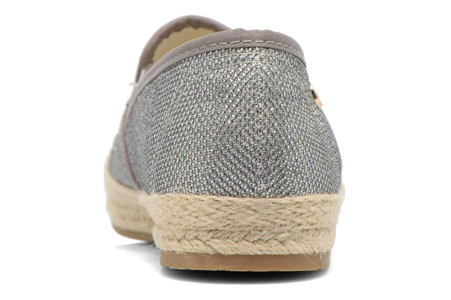 Espadrilles Xti Arianne 45215 Silver view from the right