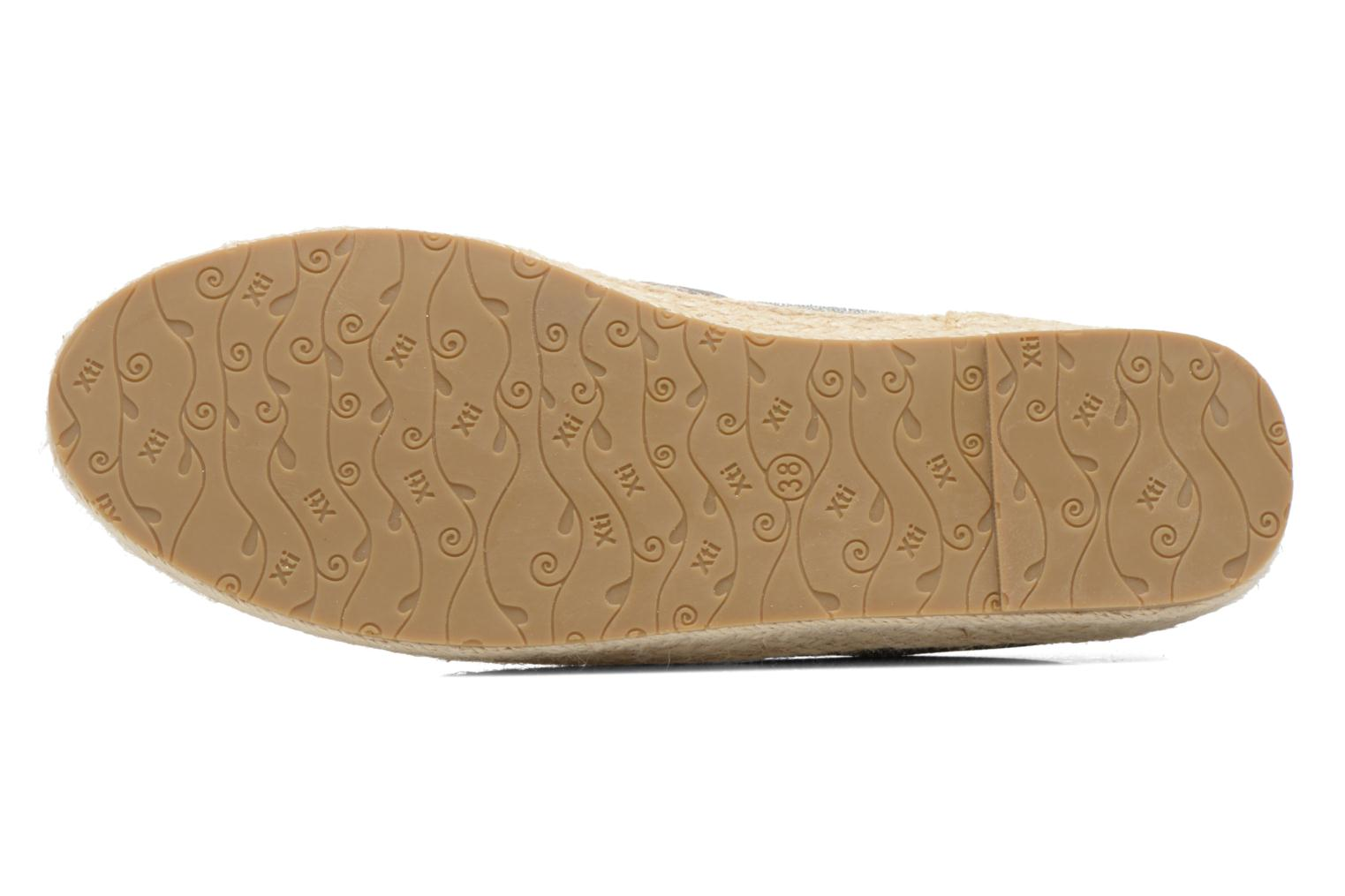 Espadrilles Xti Arianne 45215 Silver view from above
