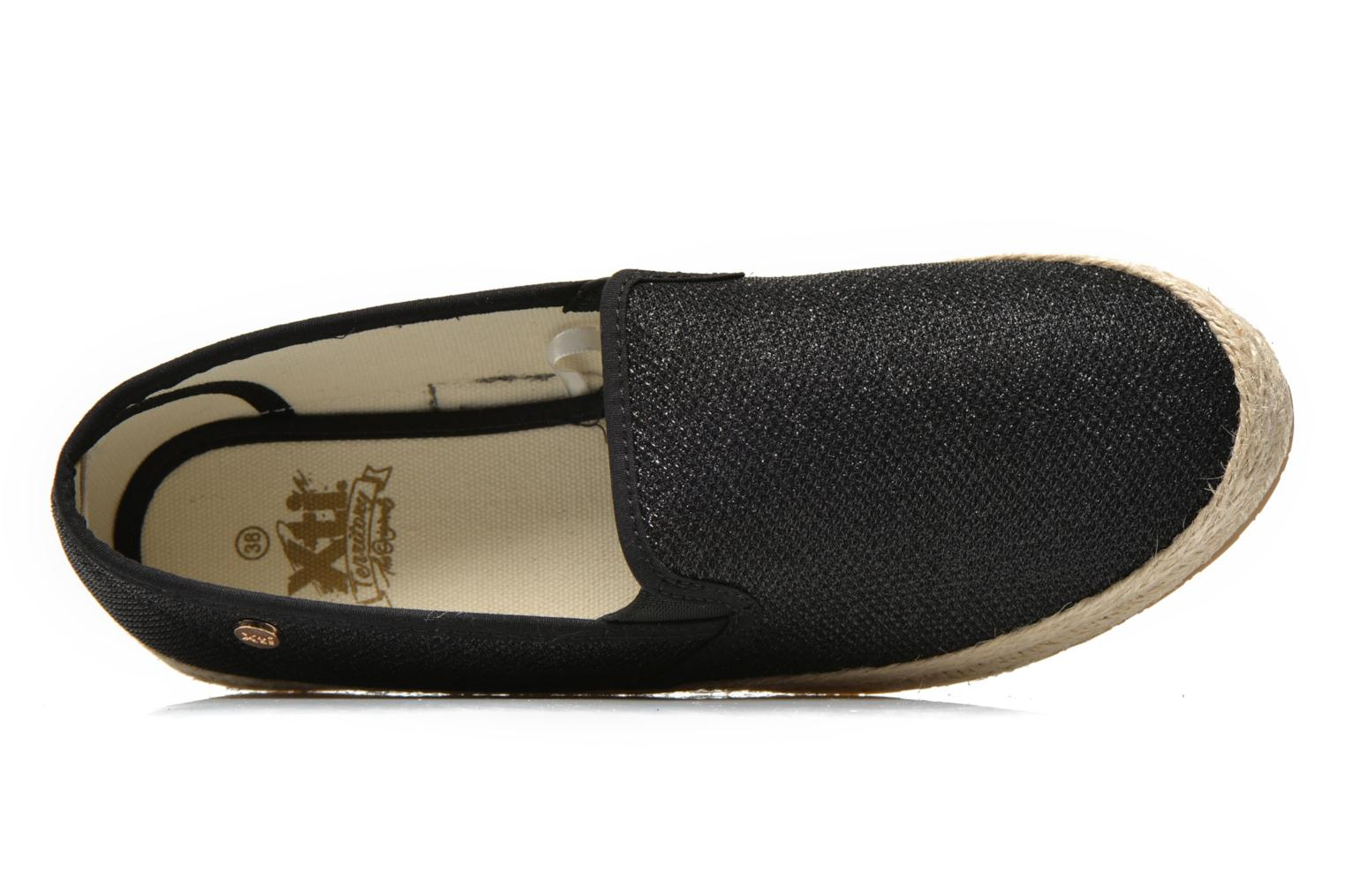 Espadrilles Xti Arianne 45215 Black view from the left