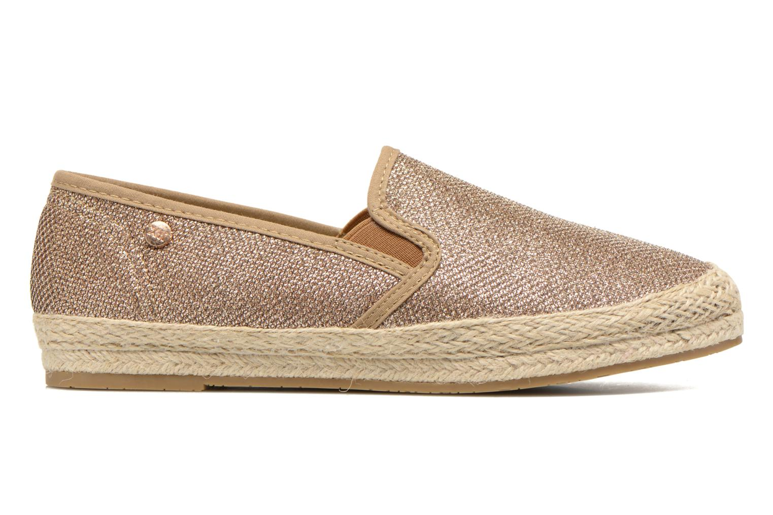 Espadrilles Xti Arianne 45215 Bronze and Gold back view