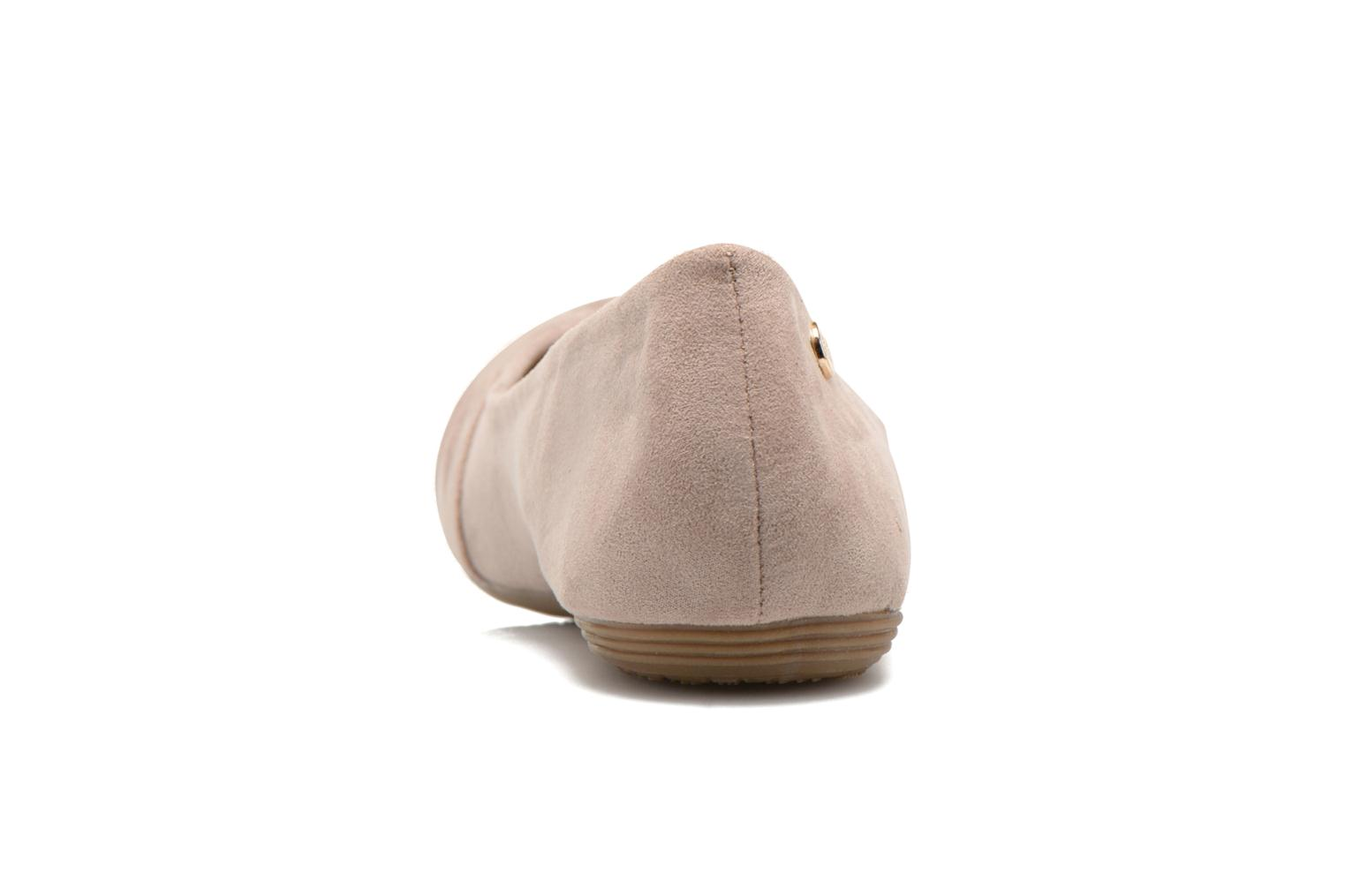 Ballet pumps Xti Constance 45114 Beige view from the right