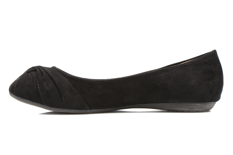 Ballerinas Xti Constance 45114 schwarz ansicht von vorne