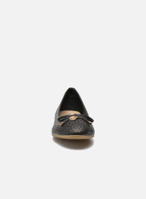 Ballerinas Xti Lila 45038 schwarz schuhe getragen