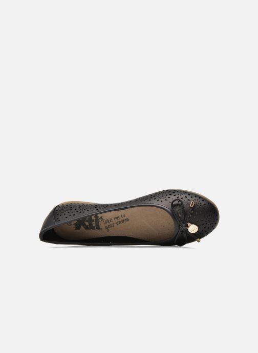 Ballerina's Xti Lila 45038 Zwart links