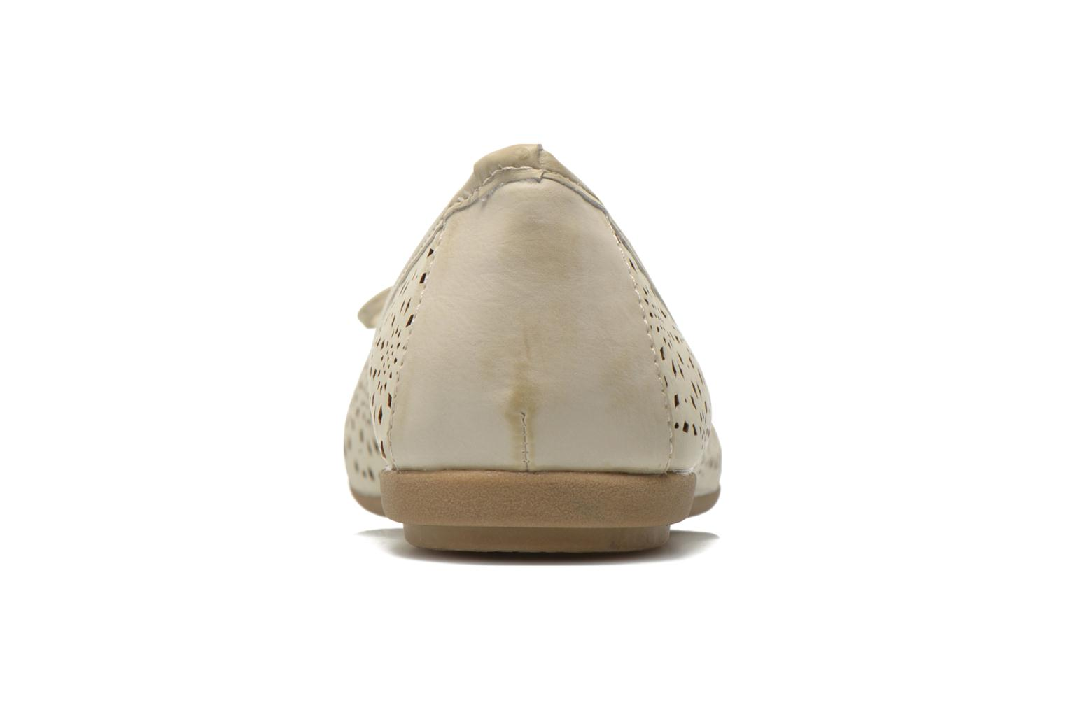 Ballet pumps Xti Lila 45038 Beige view from the right