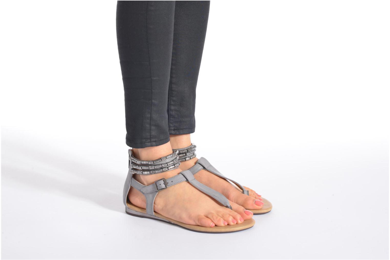 Sandales et nu-pieds Xti Romance 45788 Gris vue bas / vue portée sac