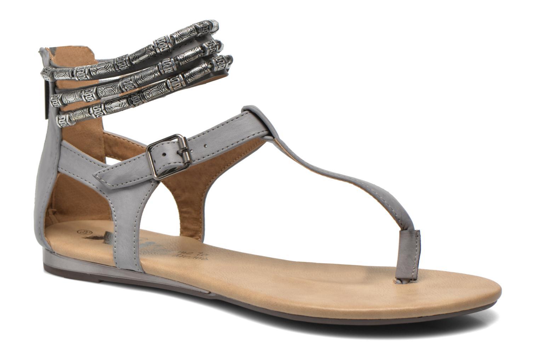 Sandales et nu-pieds Xti Romance 45788 Gris vue détail/paire