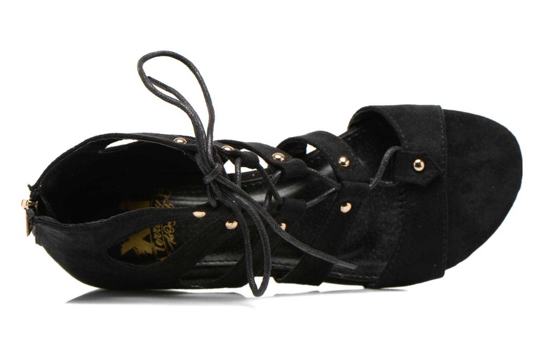 Sandales et nu-pieds Xti Rififi 45239 Noir vue gauche