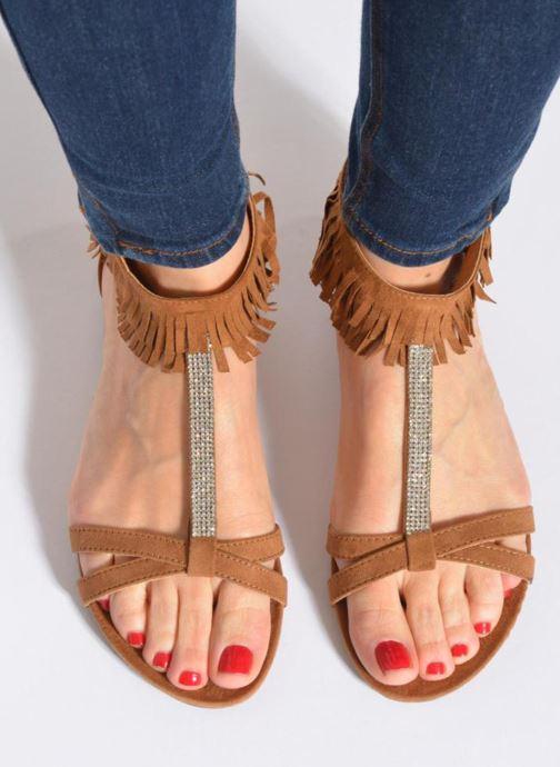 Sandales et nu-pieds Xti Recreation 45882 Noir vue bas / vue portée sac