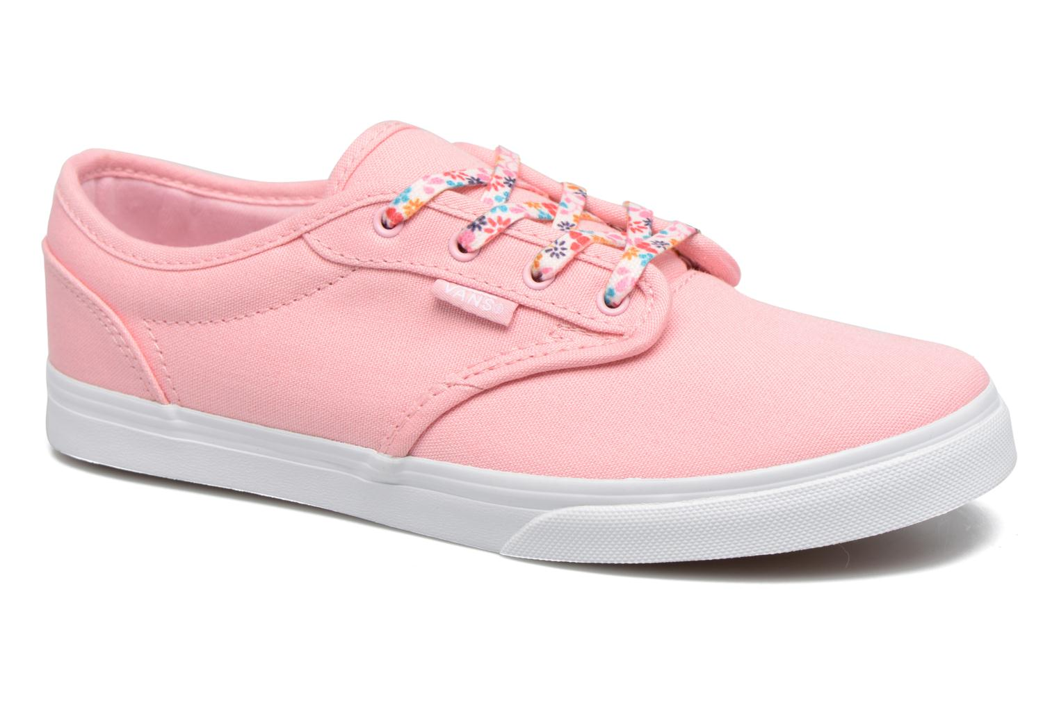 Baskets Vans Atwood Low Rose vue détail/paire