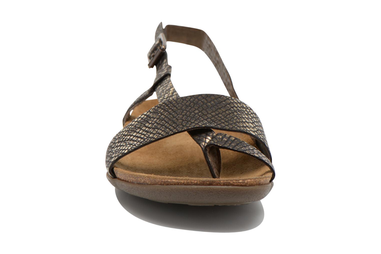 Sandalen Kickers Alchimie schwarz schuhe getragen