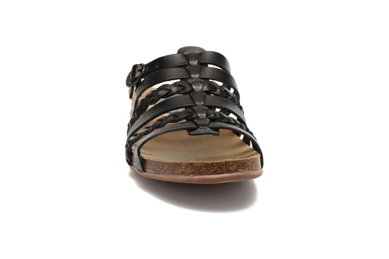 Clogs & Pantoletten Kickers Anae schwarz schuhe getragen