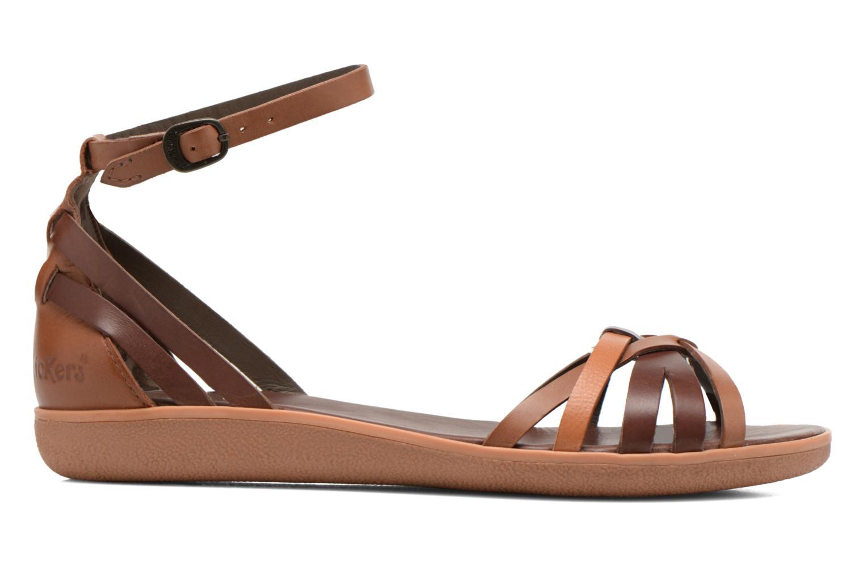 Sandales et nu-pieds Kickers Hypocrate Marron vue derrière