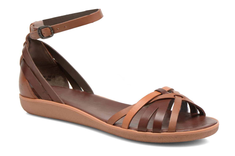 Sandales et nu-pieds Kickers Hypocrate Marron vue détail/paire