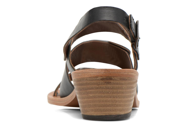 Sandales et nu-pieds Kickers Khôol Noir vue droite