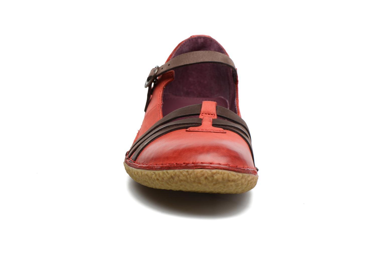 Ballerinas Kickers Hibou rot schuhe getragen