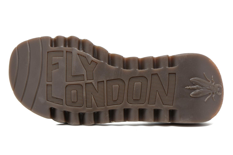 Sandales et nu-pieds Fly London Tram 723 Noir vue haut
