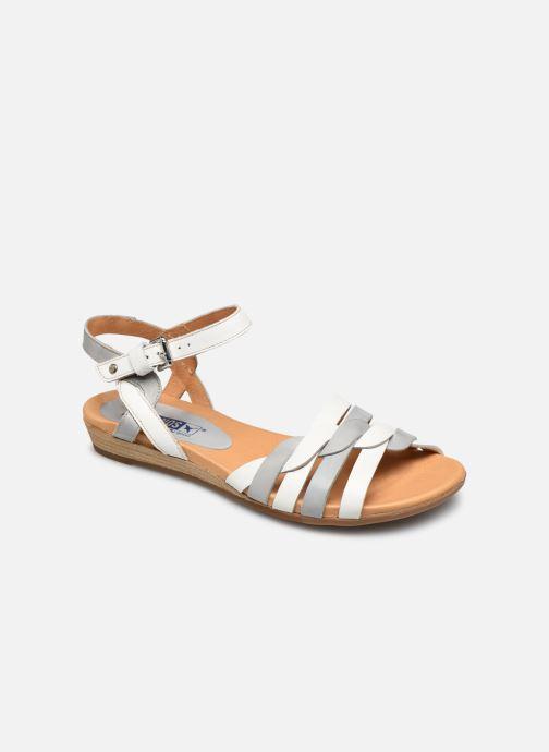 Sandales et nu-pieds Pikolinos Alcudia 816-0662 Blanc vue détail/paire
