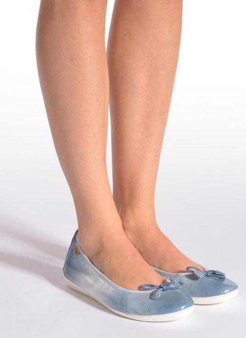 Ballerina's Pikolinos Bora Bora W7E-DG2513 Blauw onder