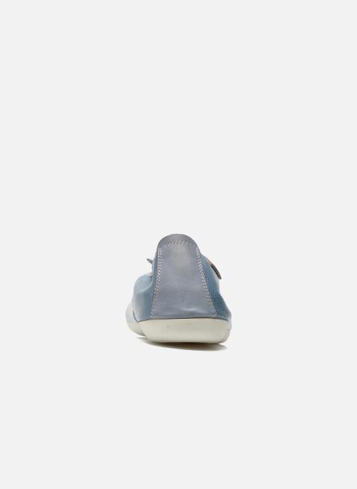 Ballerines Pikolinos Bora Bora W7E-DG2513 Bleu vue droite