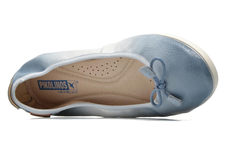 Ballerines Pikolinos Bora Bora W7E-DG2513 Bleu vue gauche