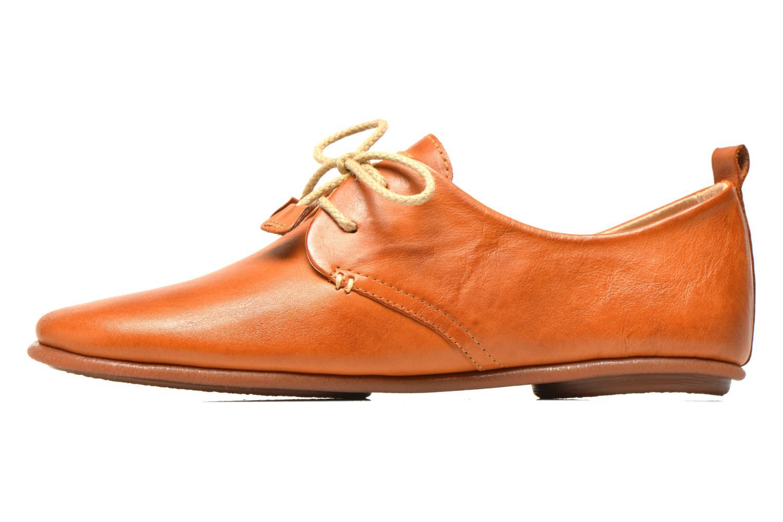 Chaussures à lacets Pikolinos Calabria 917-7123 Marron vue face
