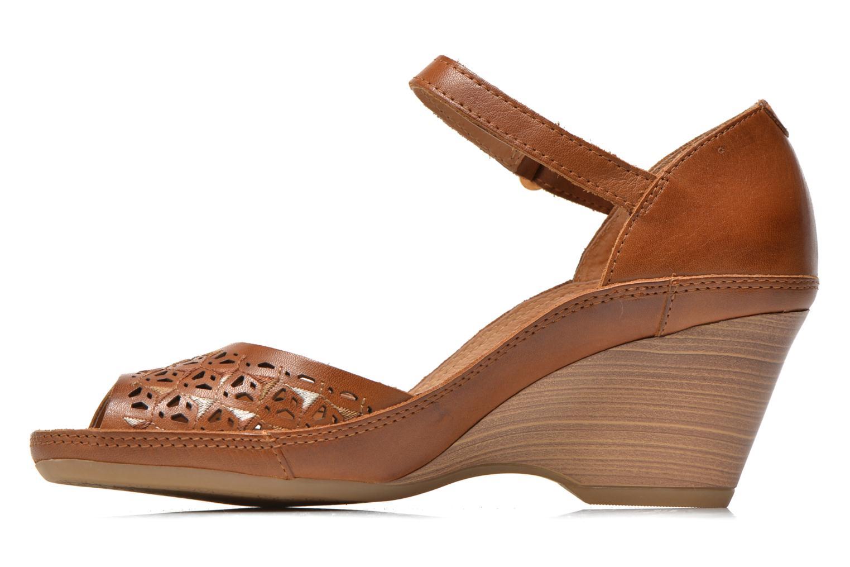 Sandales et nu-pieds Pikolinos Capri W8F-0743 Marron vue face