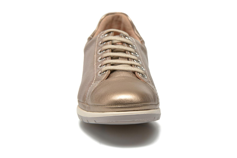 Baskets Pikolinos Granada 879-6551CL Or et bronze vue portées chaussures