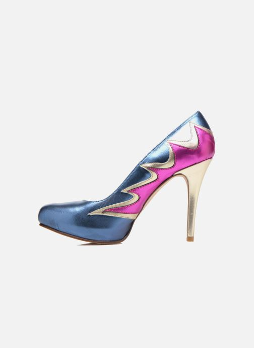 High heels Anna Volodia Candela Blue front view