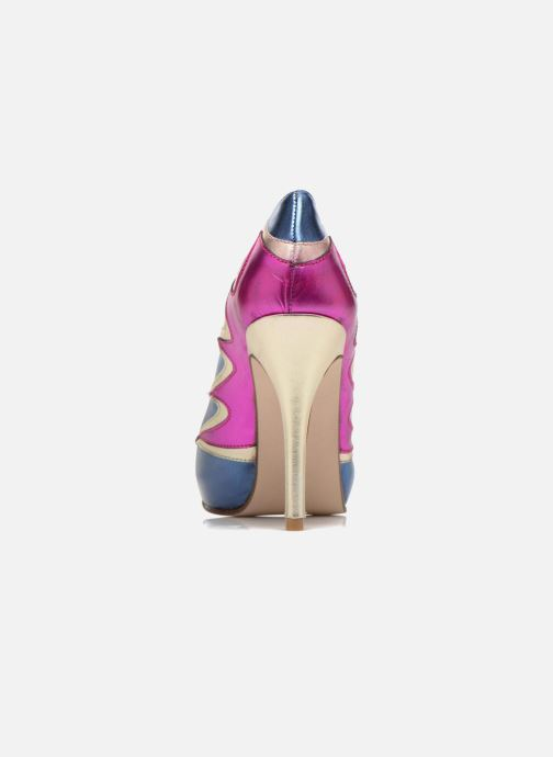 High heels Anna Volodia Candela Blue view from the right