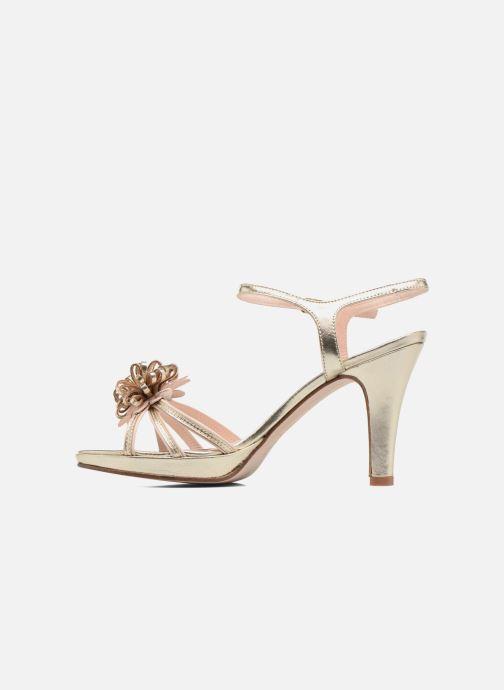 Sandales et nu-pieds Anna Volodia Flora 3 Or et bronze vue face