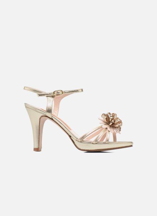 Sandales et nu-pieds Anna Volodia Flora 3 Or et bronze vue derrière