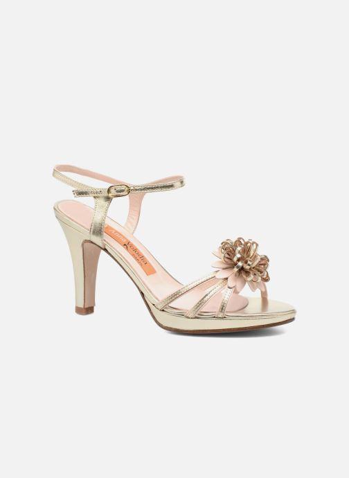 Sandales et nu-pieds Anna Volodia Flora 3 Or et bronze vue détail/paire