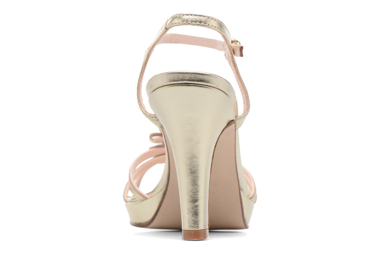 Sandali e scarpe aperte Anna Volodia Flora 3 Oro e bronzo immagine destra